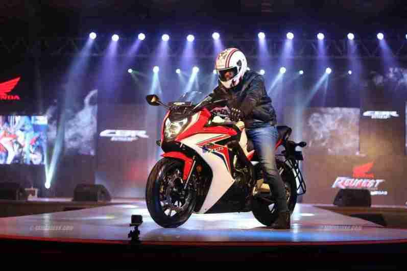 Honda CBR650F launch - Revfest Bangalore
