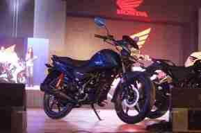 Honda Livo blue colour option