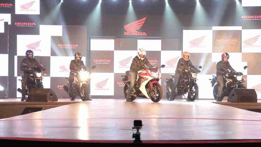 Honda Revfest Bangalore bikes launched