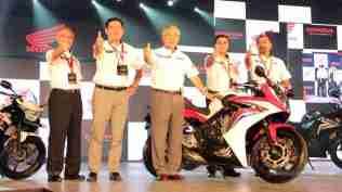 Honda Revfest Bangalore team