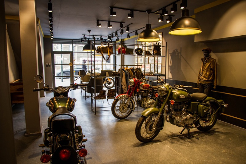 Royal Enfield UK motorcycles