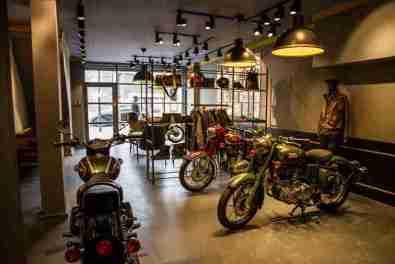 Royal Enfield UK motorcycles