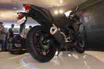 Yamaha YZF-R3 black rear section