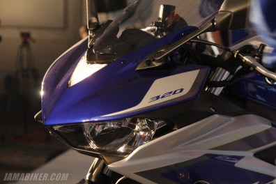 Yamaha YZF-R3 headlight