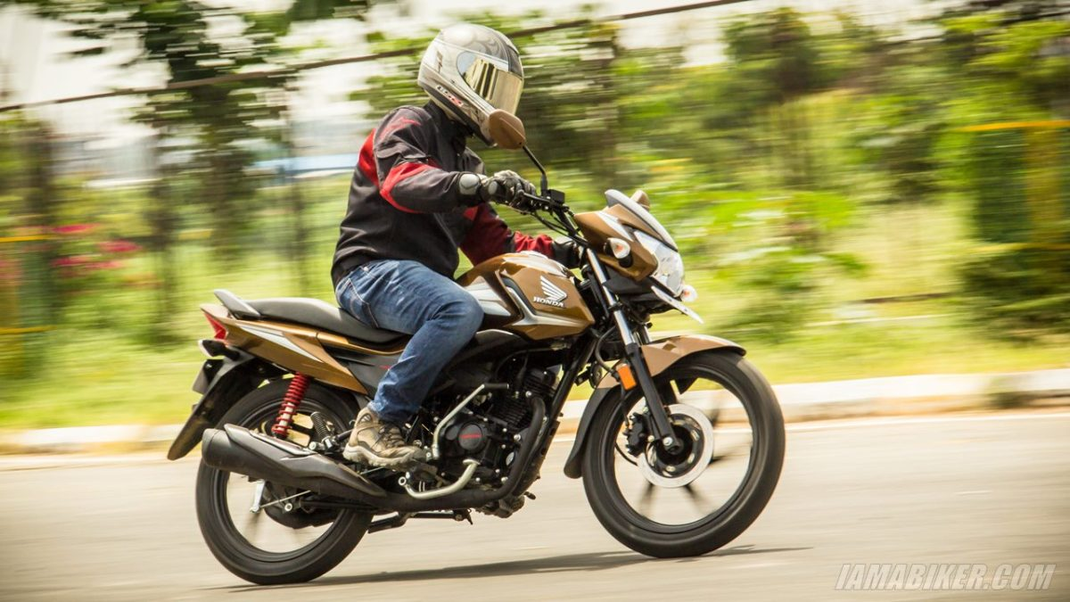 Honda Livo review handling and braking