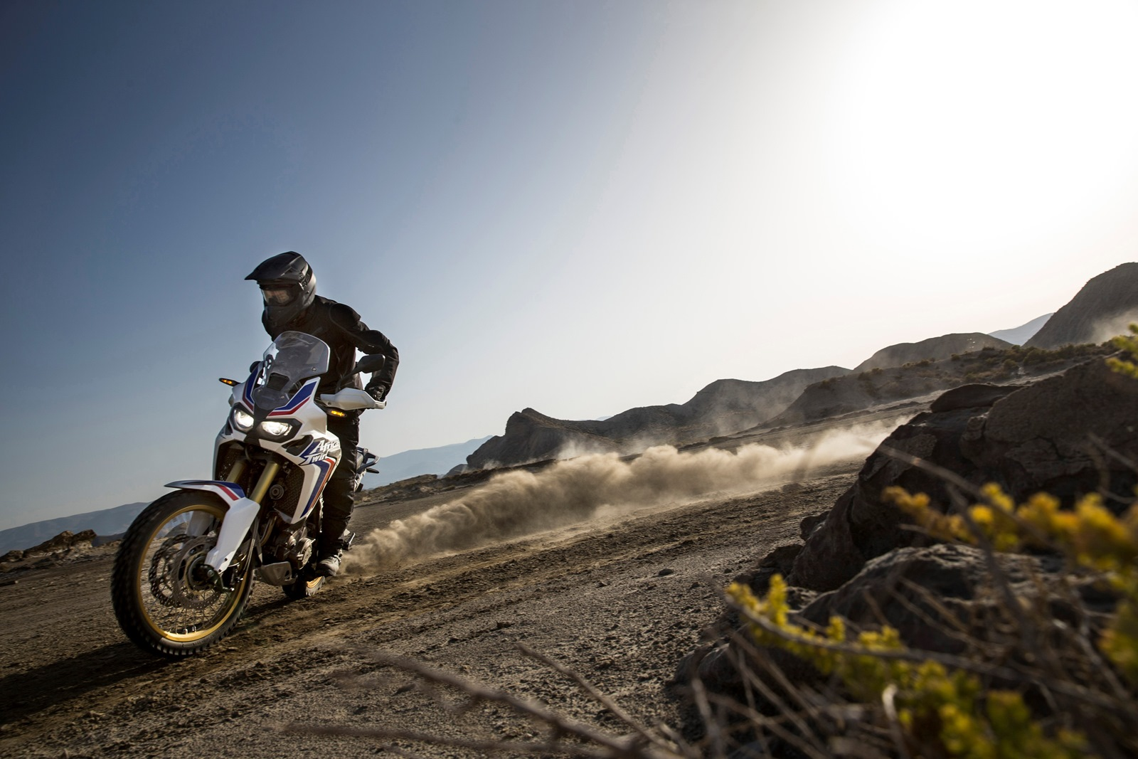 2016 Honda CRF1000L Africa Twin drift
