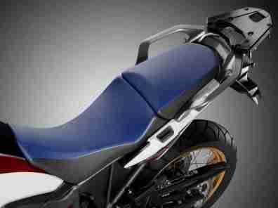 2016 Honda CRF1000L Africa Twin seat