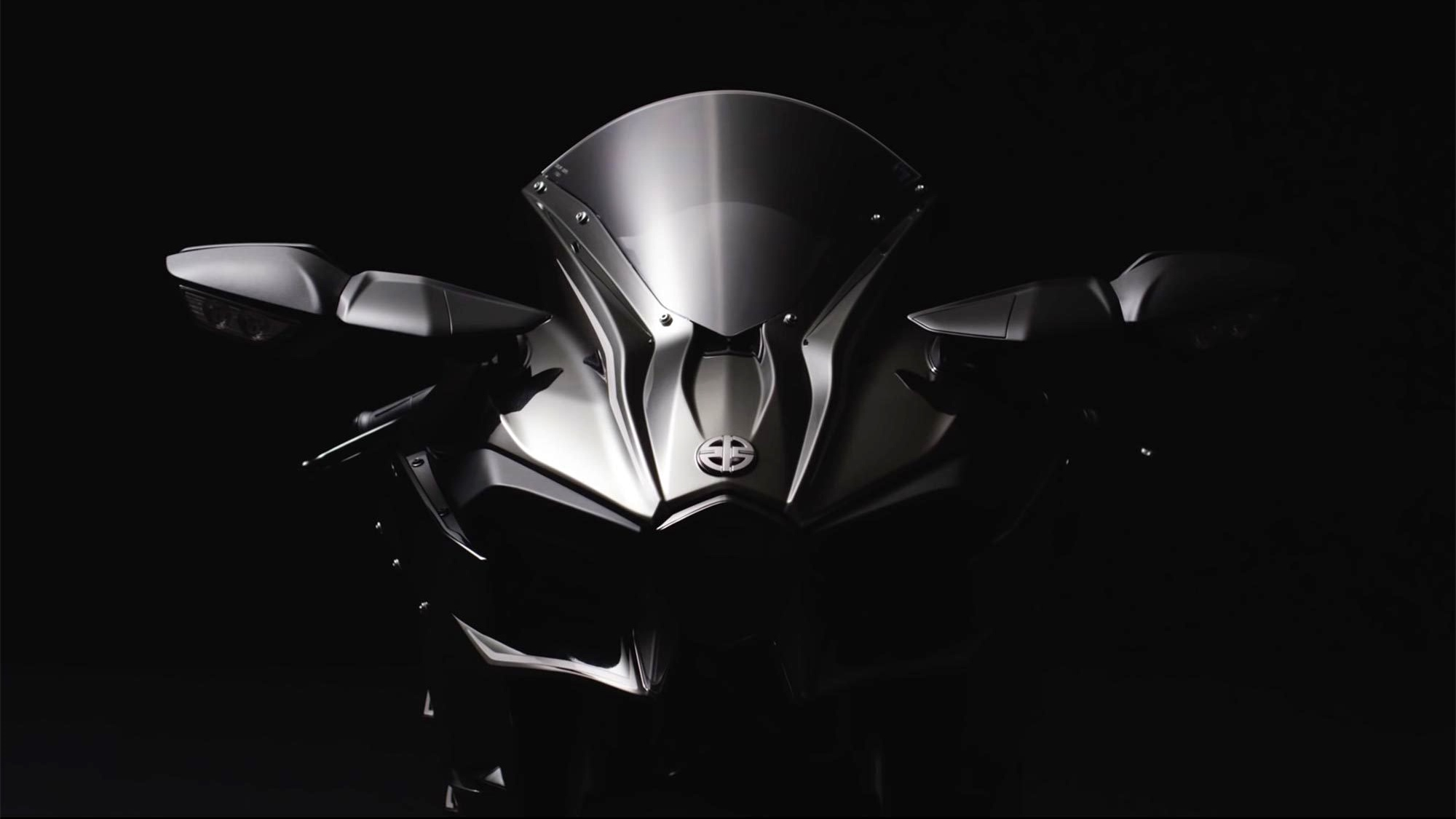 2016 Kawasaki Ninja H2 black colour