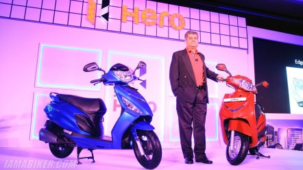 Hero Duet and Maestro Edge Ashok Bhasin Bangalore launch