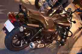 New Bajaj Avenger 220 Street back view