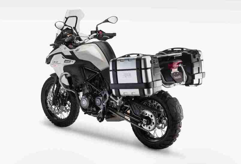 Benelli TRK 502 unveiled