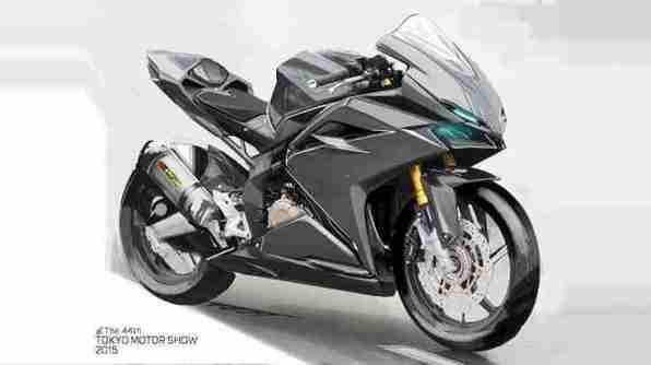Honda CBR 250RR drawing