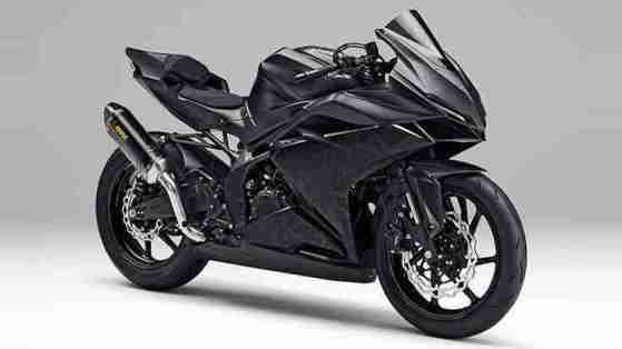 Honda CBR 250RR studio shot