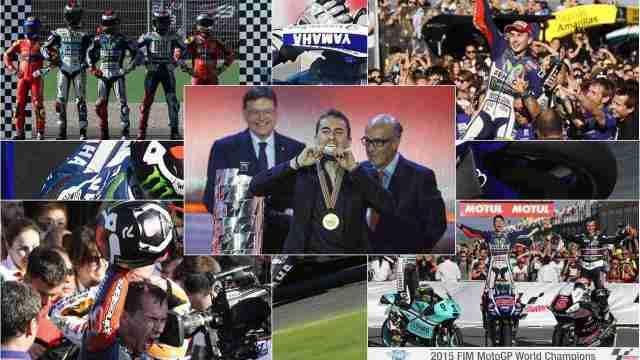 Jorge Lorenzo 2015 MotoGP world champion