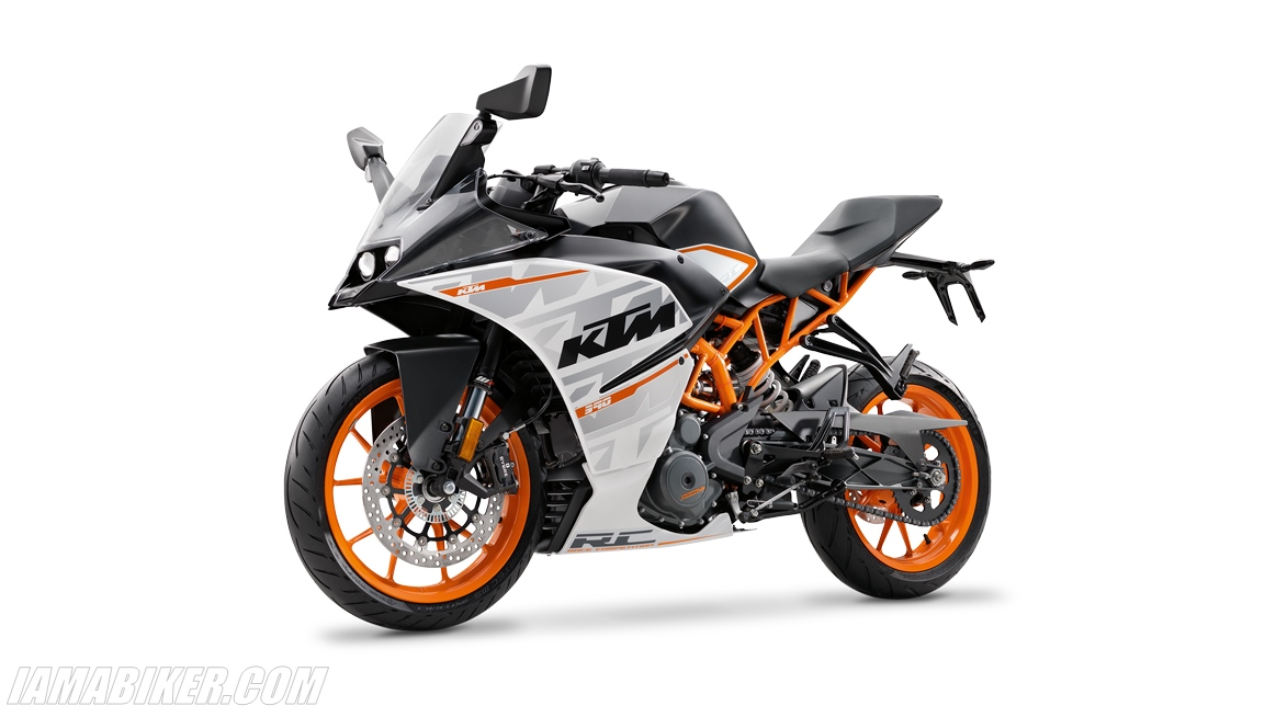 New 2016 KTM RC390 specifications