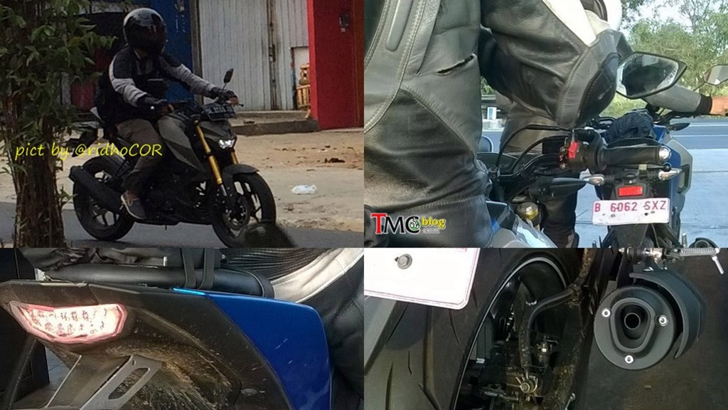 Yamaha MT-15 spotted testing