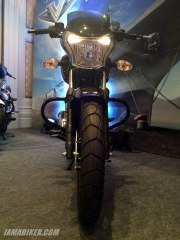 Bajaj V tail front view