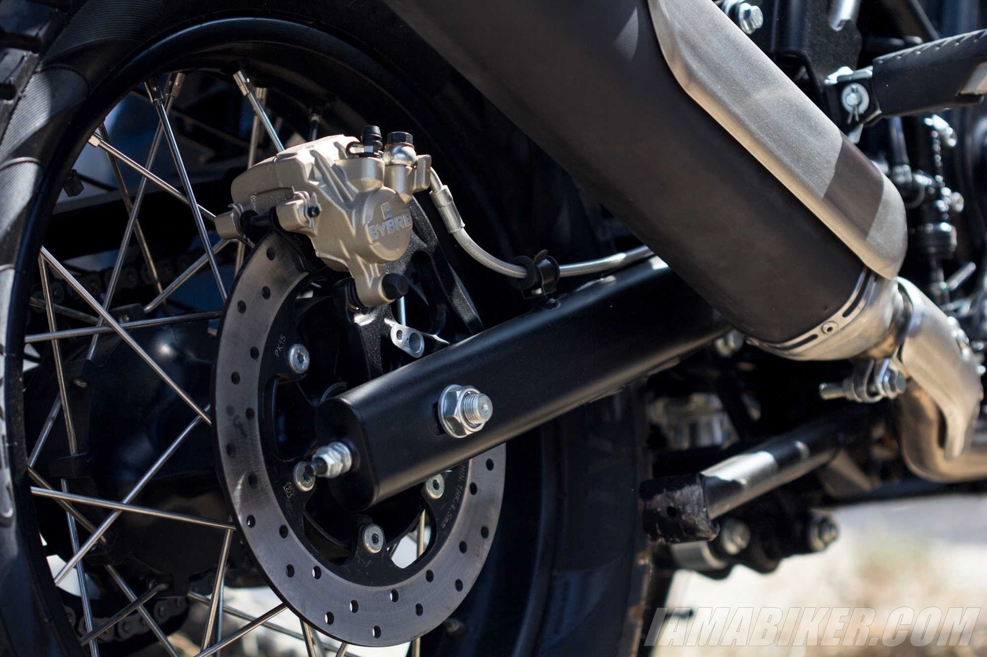 Royal Enfield Himalayan rear disc brake