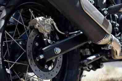 Royal Enfield Himalayan rear disc brake