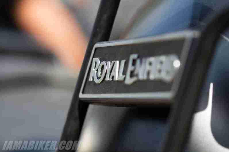 Royal Enfield Himalayan badging