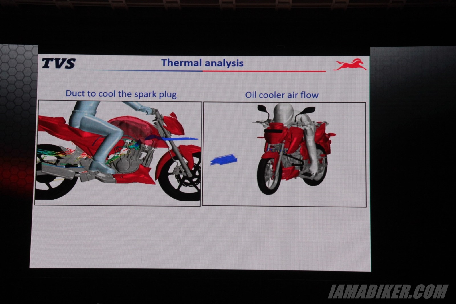 TVS Apache RTR 200 air flow