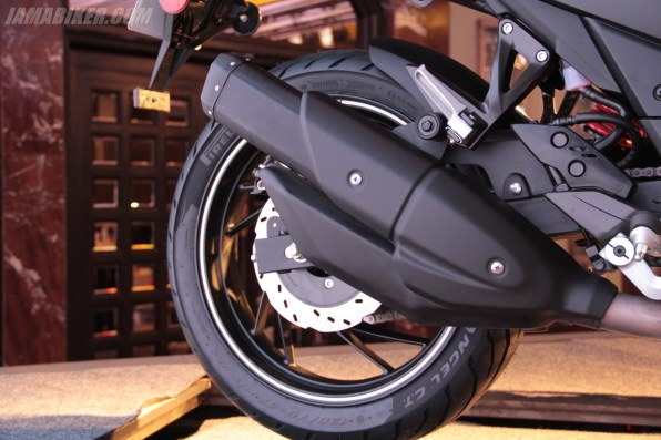 TVS Apache RTR 200 exhaust silencer