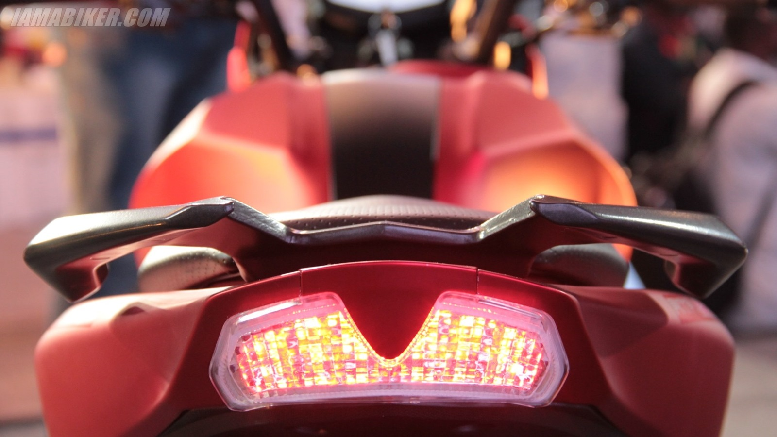 TVS Apache RTR 200 brake light