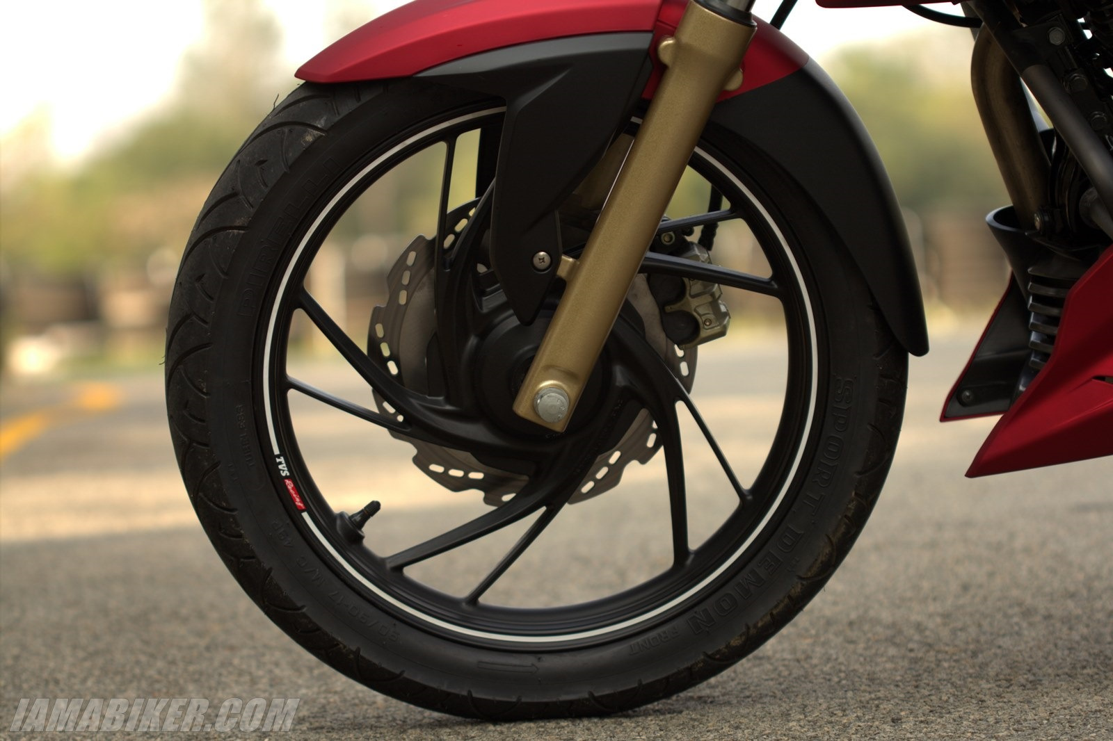 TVS Apache RTR 200 alloy wheel