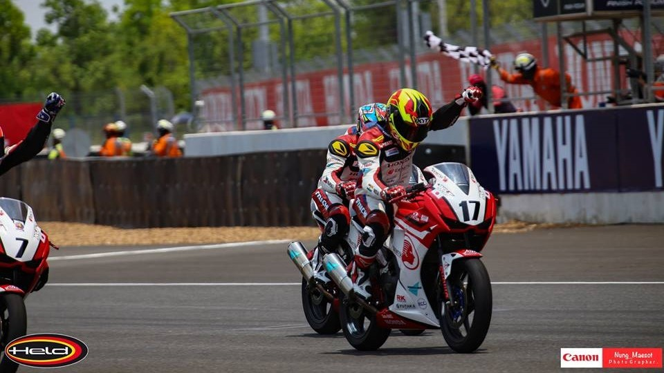 Hari Krishnan takes podium at ARRC
