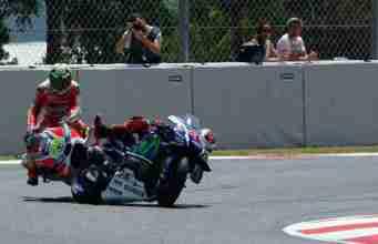 Motorcycle racing - Lorenzo Iannone crash
