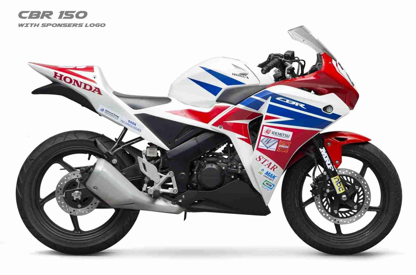 Race spec Honda CBR150R