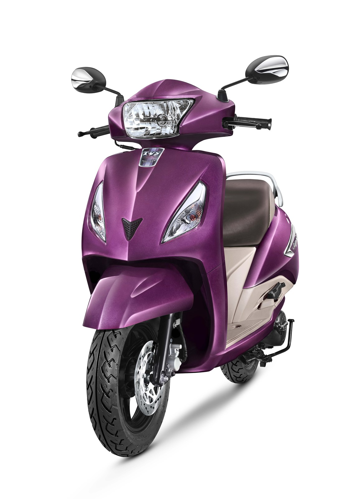 TVS Jupiter with disc brake