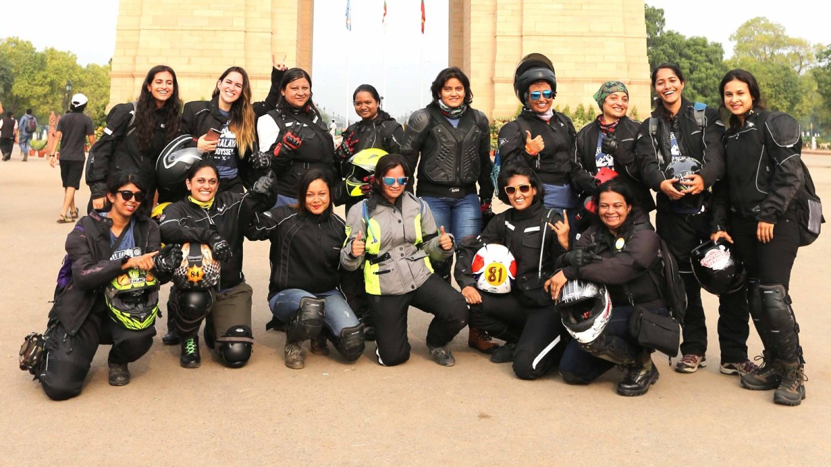 Royal Enfield Himalayan Odyssey Womens team