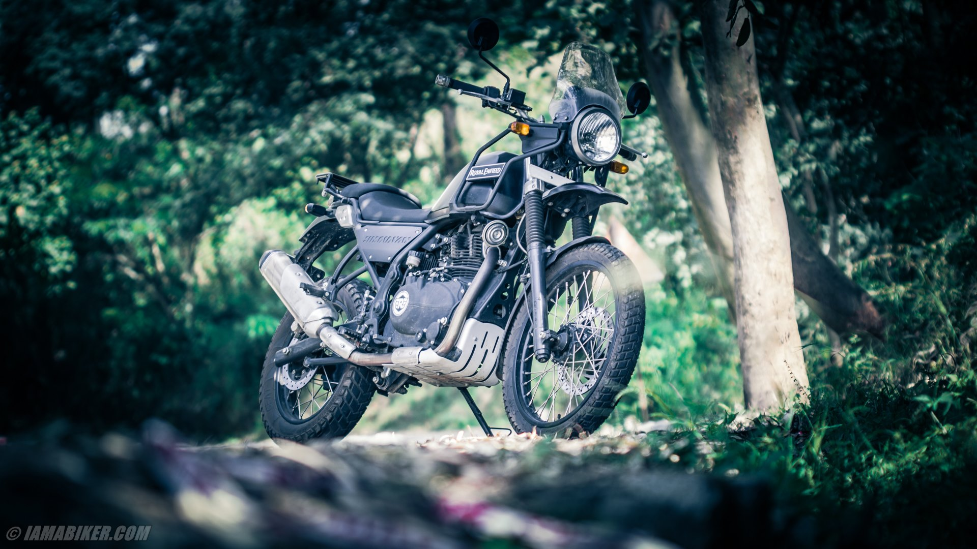 royal enfield himalayan hd wallpapers | iamabiker