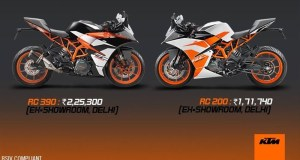 2017 KTM RC launched in India