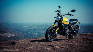 Ducati Scrambler HD wallpaper