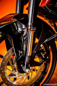 KTM Duke 250 WP suspension
