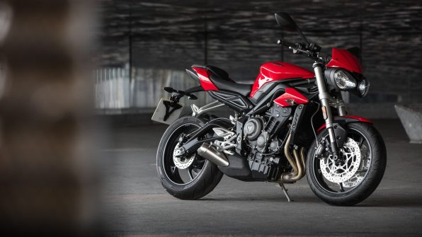 2017 Triumph Street Triple HD Wallpapers