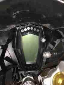 TVS Akula images (Apache RR 310S) speedometer