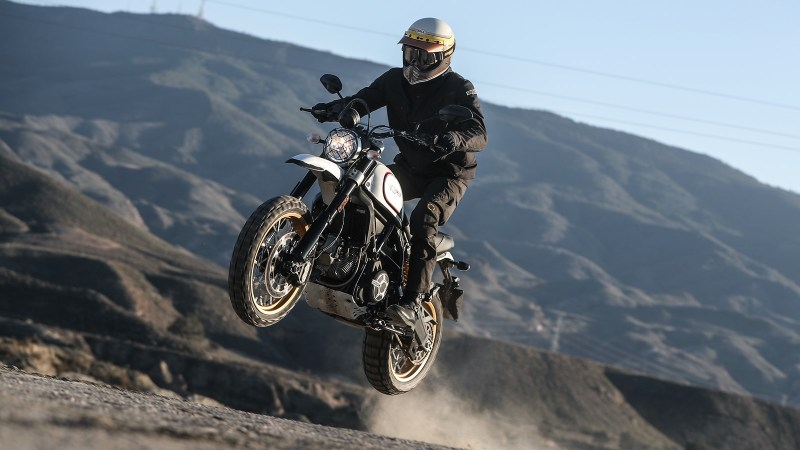 Ducati Scrambler Desert Sled launched at 9.3 lakh in India