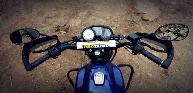 Yamaha SZ Adventure Build