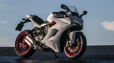 Ducati SuperSport India white