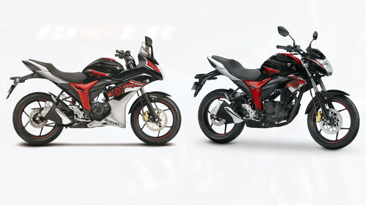 2017 suzuki gixxer sf sp and gixxer sp versions announced