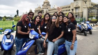 TVS Himalayan Highs 3 riders