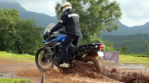 Triumph Tiger Trails organised in Amby valley