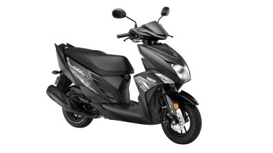Yamaha Cygnus Ray ZR Dark Knight colour option