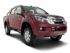ISUZU D-MAX V-Cross colour option Ruby Red