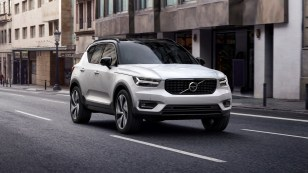 New Volvo XC40 front