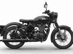 Royal Enfield Classic 500 Stealth Black colour option