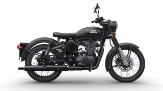 Royal Enfield Classic 500 Stealth Black colour option